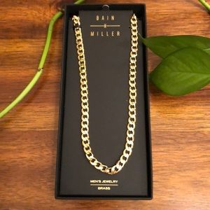 Bain Miller gold plated chain
